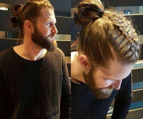 viking style braids  men viking hairstyles men