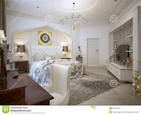 chambre style orientale style d 39 de chambre à coucher illustration stock