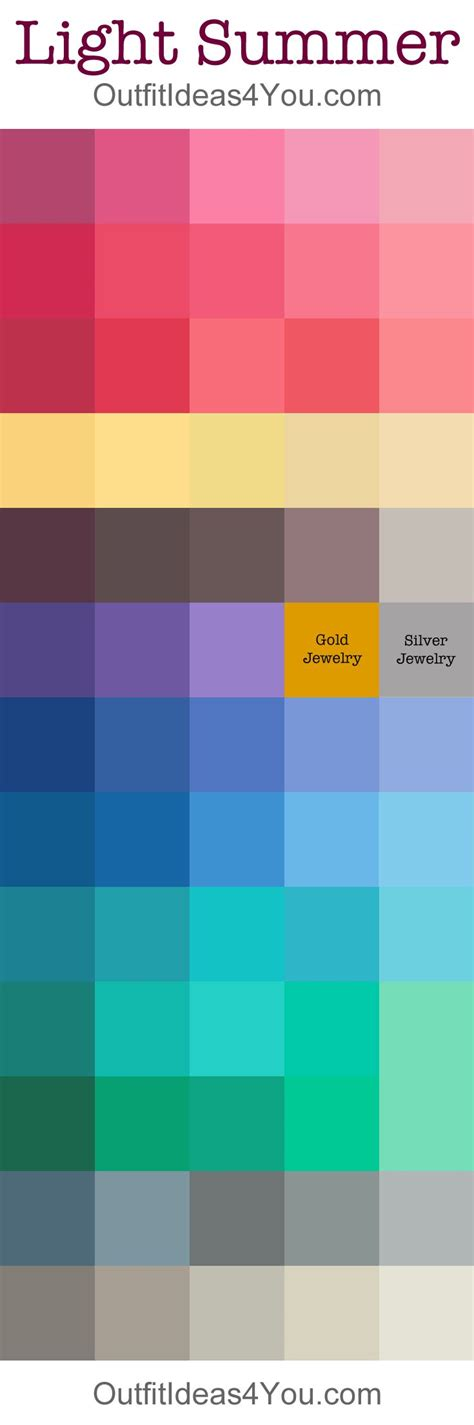 summer color palette the 25 best summer color palettes ideas on