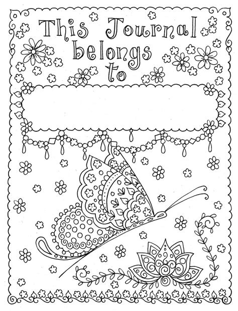 Coloring Journal by 17 Best Images About Coloring Pages On