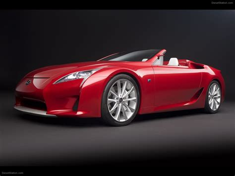 lexus lfa convertible lexus lfa roadster concept car images exotic car pictures