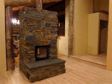 ledge masonry heater near eugene oregon firespeaking