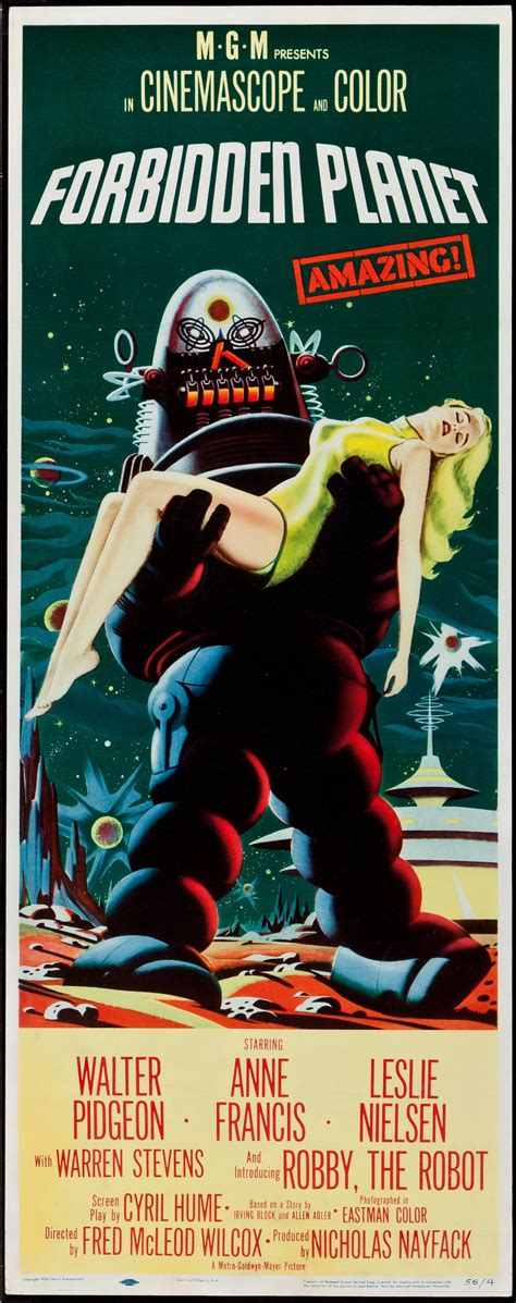 Forbidden Planet 1956 | Sold Details | Four Color Comics