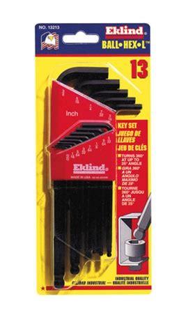 Eklind 13213 Ballhexl Key Sets