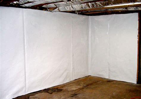 The Cleanspace Wall Basement Vapor Barrier System, Vapor