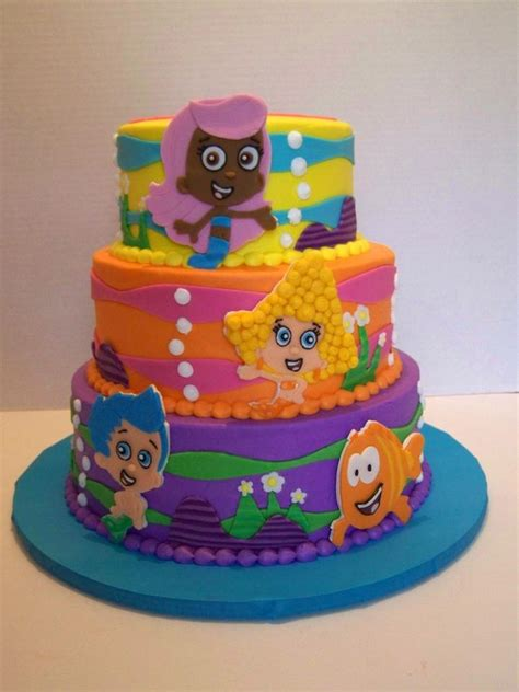guppies cake decorations 17 best images about guppies on