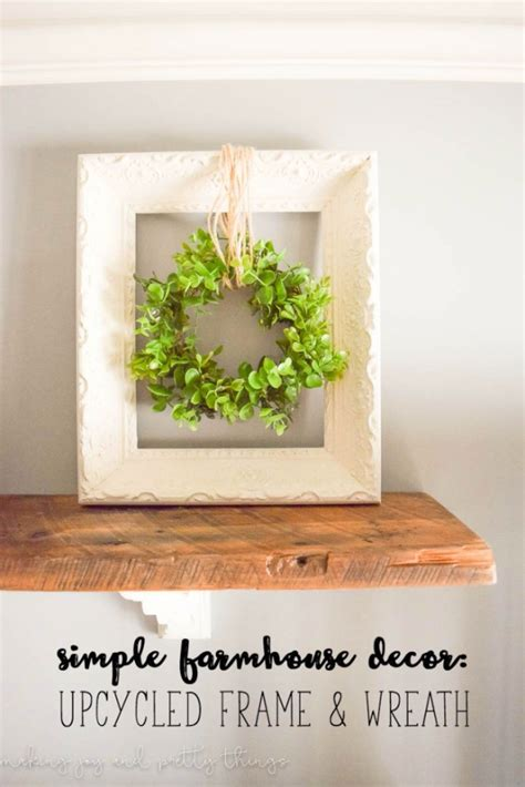 There are a whole lot of farmhouse signs and quotes that can be hung on the wall. 31 DIY Farmhouse Decor Ideas For Your Kitchen