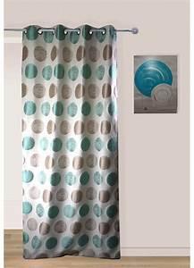 Rideau Bleu Gris : rideau pois bicolore avec oeillets bleu gris rose violet homemaison vente en ~ Teatrodelosmanantiales.com Idées de Décoration