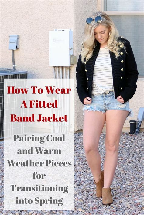 band jacket spring transition outfit lookdujour