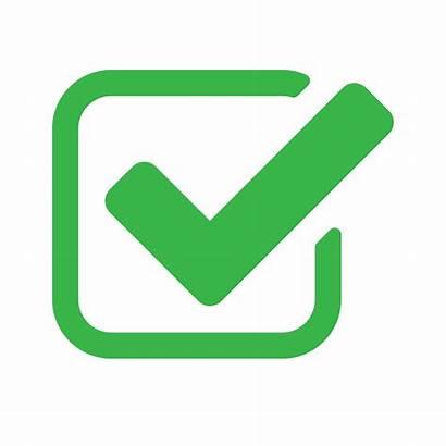 Service Personal Check Transparent Background Mark Checkbox