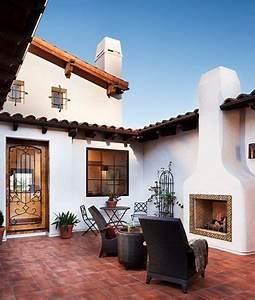 Innenhof Spanischer Häuser : hilltop hacienda home sweet home pinterest haus design und home design ~ Udekor.club Haus und Dekorationen