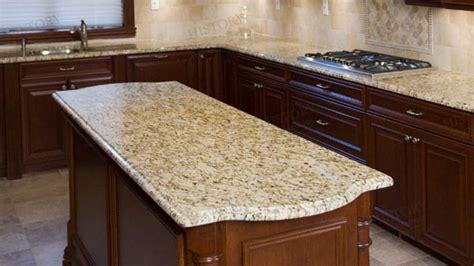 brazil gold granite countertops supplier custom island