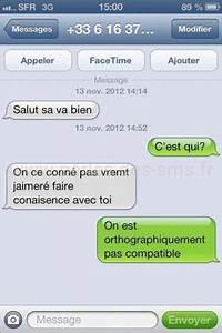 conversation sms avec une fille