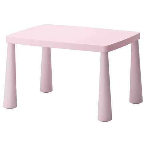 chaise plastique ikea mammut children 39 s table in outdoor light pink 77x55 cm ikea