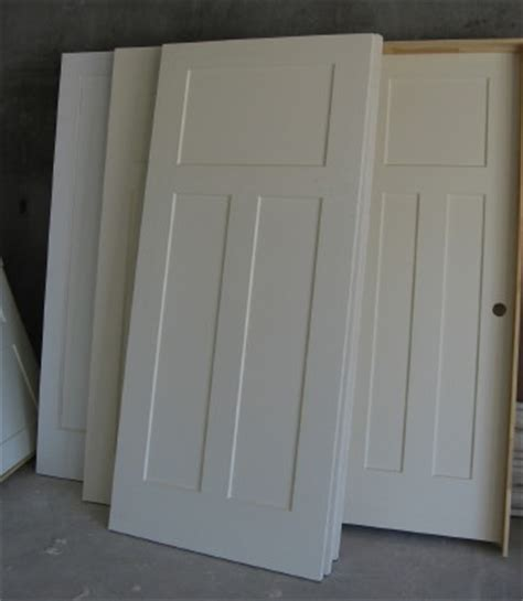 interior doors in white craftsman style i want these