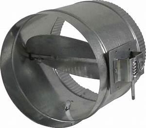 5020-1200  Round Balancing Damper W   Worm Gear