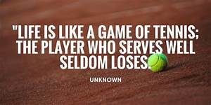 Image Gallery tennis quotes