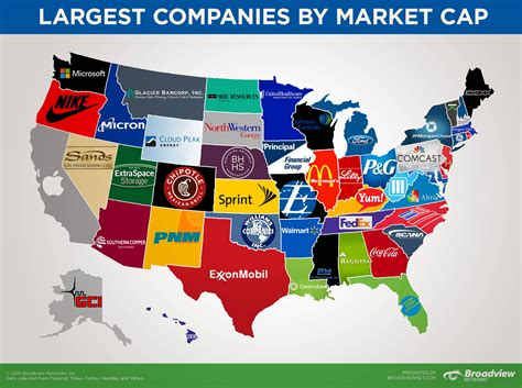 map  largest publicly traded company  stock market