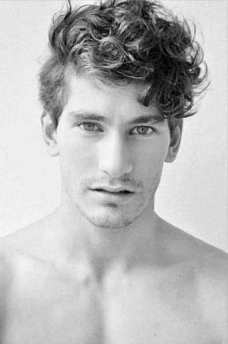 If you let your hair grow longer, you'll quickly learn that long hair can sometimes be pretty overwhelming. 50 Long Curly Hairstyles For Men - Manly Tangled Up Cuts