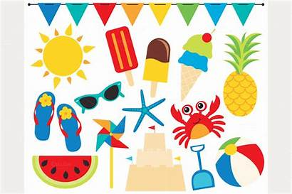 Summer Clipart Beach Clip Summertime Cliparts Market