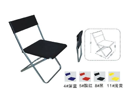 white metal folding chair for living room with cushion