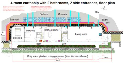 architecture earthship house 01 basics and floor plans