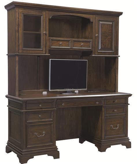 credenza and hutch credenza and hutch with 5 drawers by aspenhome wolf