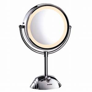 Miroir Rond Lumineux : miroirs miroir lumineux rond double face 8438e ~ Zukunftsfamilie.com Idées de Décoration