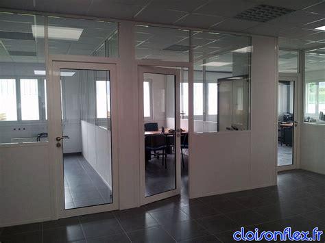 cloison verre bureau cloison amovible vitre great cloison amovible en mtal de