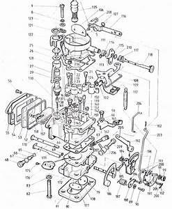 Ajuste De Motor  Despiece Carburador Nikki  Chevrolet Luv 1 6