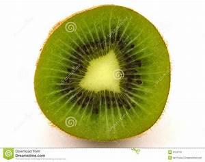 Fresh cut kiwi fruit stock image. Image of nature, color ...