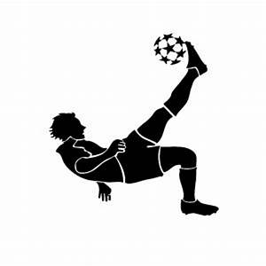 Kicking Soccer Ball Silhouette | Clipart Panda - Free ...