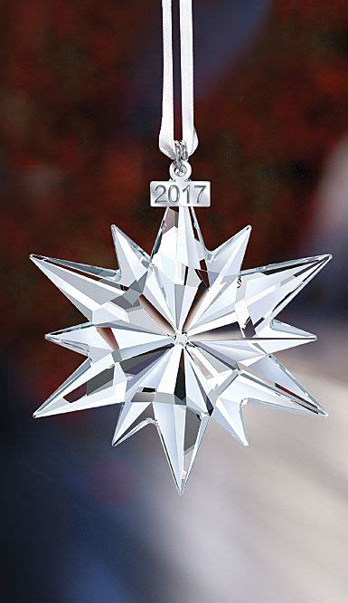 swarovski  annual edition crystal ornament christmas