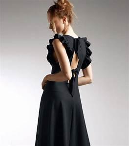 la robe noire de delphine manivet pour la redoute miss With robe de soirée la redoute