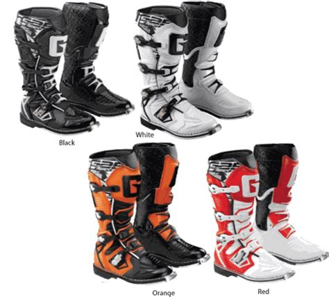italian motocross boots gaerne g react italian made motorcycle boots