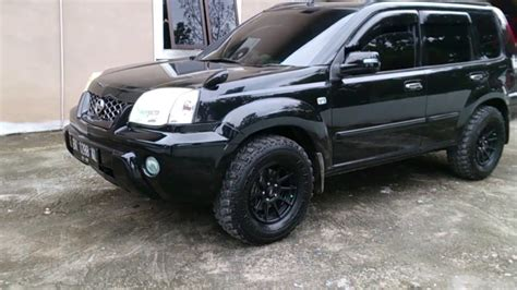 Nissan X Trail Modification 2004 nissan x trail modifikasi simple modification