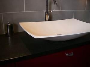 Plan De Travail Salle De Bain : plans de toilette pour votre salle de bain gammes de ~ Dailycaller-alerts.com Idées de Décoration