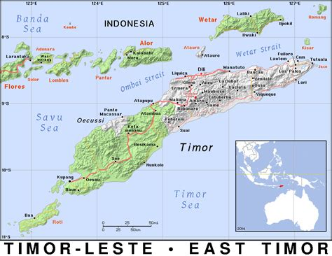 tl timor leste east timor public domain maps  pat