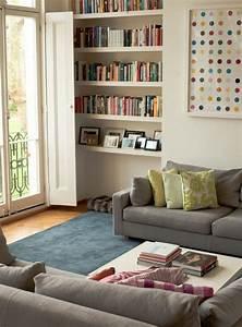 83 photos comment amenager un petit salon archzinefr With tapis moderne avec petit canapé ancien