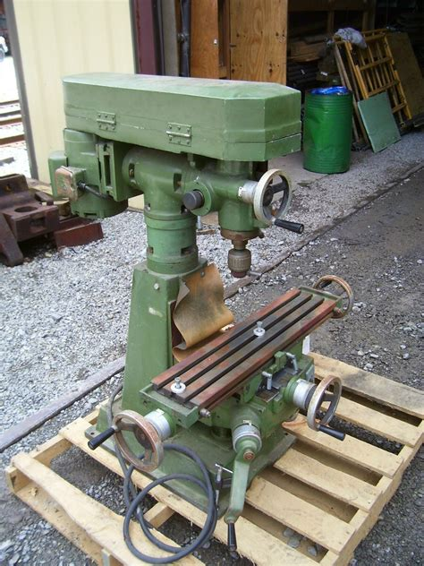 mill jet benchtop collets ect 1981 machinery