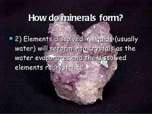 Minerals Slideshare
