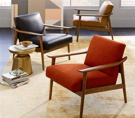 west elm mid century lounge chair interior design tips