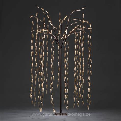 trauerweide led baum led trauerweide 250cm gro 223 e weihnachtsbeleuchtung beleuchteter led baum lichterbaum