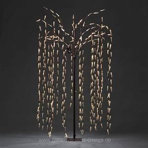 Weihnachtsbeleuchtung Außen Baum : led trauerweide 250cm gro e weihnachtsbeleuchtung beleuchteter led baum lichterbaum ~ Orissabook.com Haus und Dekorationen