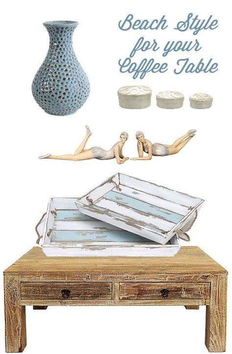 Showing results for beach coastal coffee table. Home: Beach Style Coffee Table Decorating (and secret to shopping cheap) - Skimbaco Lifestyle ...