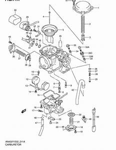 Carburetor For 2001 Suzuki An400