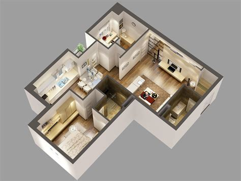 Free 3d Bathroom Design Software by 3d Floor Plan Software Free With Awesome Modern Interior
