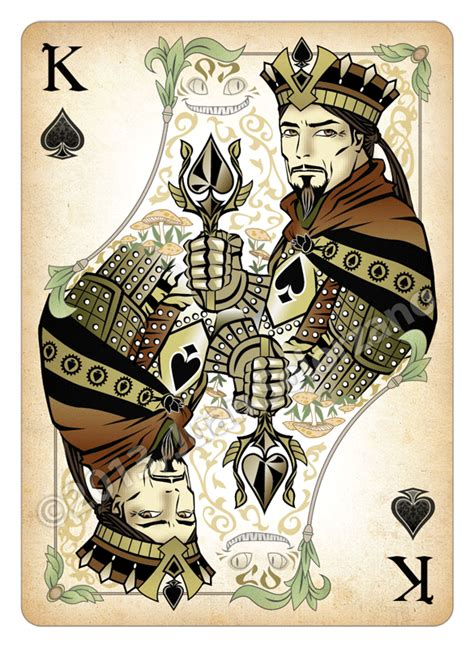 image result  king  spade art unique playing cards