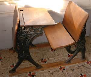 shallow thoughts from iowa antique school desk on craigslist