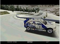 Kei's Workshop パソコンゲーム COLIN McRAE RALLY